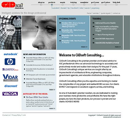 CADsoft Consult Homepage